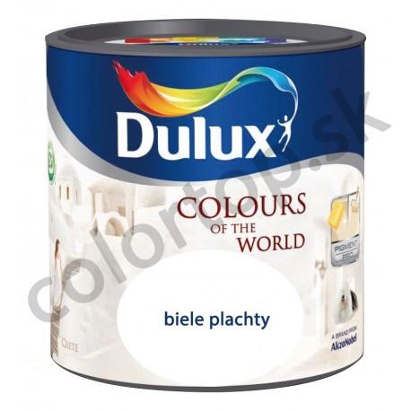 Dulux colours of the world biele plachty 2,5L