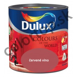 Dulux colours of the world červené víno 5L