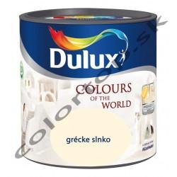 Dulux colours of the world grécke slnko 2,5L