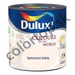 Dulux colours of the world lasturovo biela 2,5L