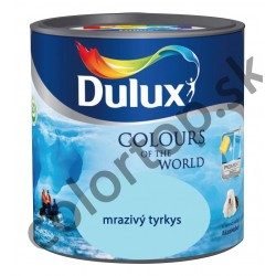 Dulux colours of the world mrazivý tyrkys 2,5L