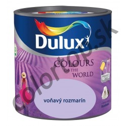 Dulux colours of the world voňavý rozmarín 2,5L
