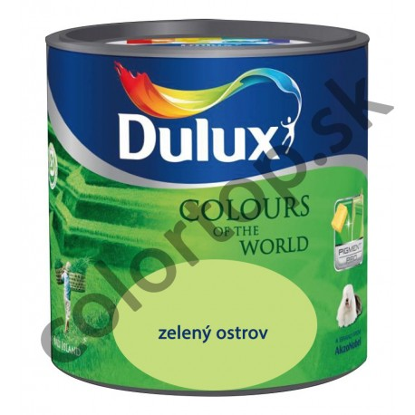 Dulux colours of the world zelený ostrov 5L