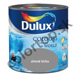 Dulux colours of the world zimné ticho 5L