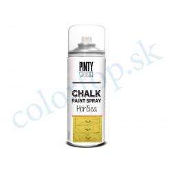 PINTY PLUS sprej chalk CK801 horčica 400ml