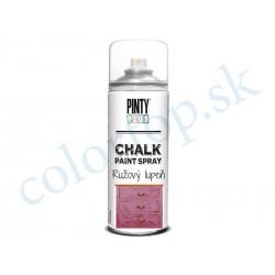 PINTY PLUS sprej chalk CK792 ružový lupeň 400ml