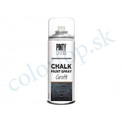 PINTY PLUS sprej chalk CK799 grafit 400ml