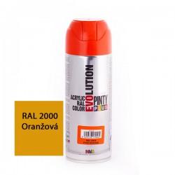 Evolution akrylový sprej RAL 2000 oranžová
