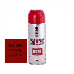 Evolution akrylový sprej RAL 3001 červená signálna