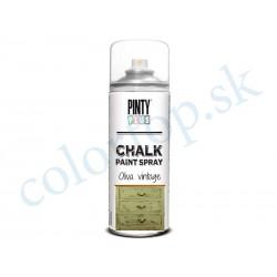 PINTY PLUS sprej chalk CK803 oliva vintage 400ml