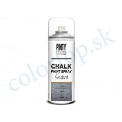 PINTY PLUS sprej chalk CK798 šedivá 400ml