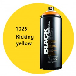 Montana black 1025 kicking yellow 400ml