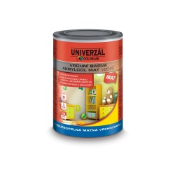 COLORLAK Akrylcol mat V-2045 C1999 čierna 0,6l
