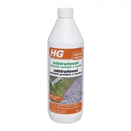 HG181 odstraňovač zel.povlakov a machu 1L