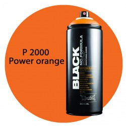 Montana black P2000 power orange 400ml