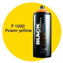Montana black P1000 power yellow 400ml