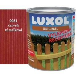 Luxol originál 0081 červeň rumelková 2,5L