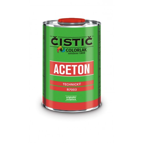 COLORLAK Aceton technický R-7003 C0000 bezfarebný 4l