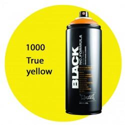 Montana black 1000 true yellow 400ml
