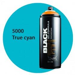 Montana black 5000 true cyan 400ml