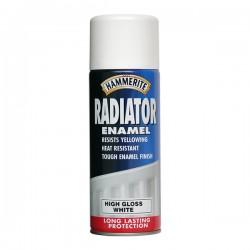 Hammerite sprej radiátor hladký biely