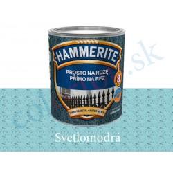 AkzoNobel Hammerite priamo na hrdzu kladivkový svetlo modrý 0,7l