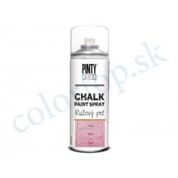 PINTY PLUS sprej chalk CK793 ružový peľ 400ml