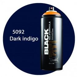 Montana black 5092 dark indigo 400ml