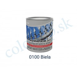AkzoNobel Komaprim 3v1  0100 biely 0,75l