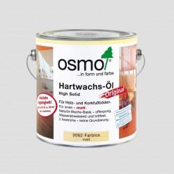 Osmo 3062 tvrdý voskový olej bezfarebný matný 2,5l
