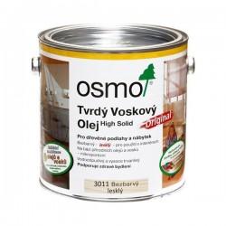 Osmo 3011 tvrdý voskový olej bezfarebný lesklý  0,75L