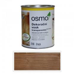 Dekoračný vosk Osmo 3166 Orech transparentný 0,75L