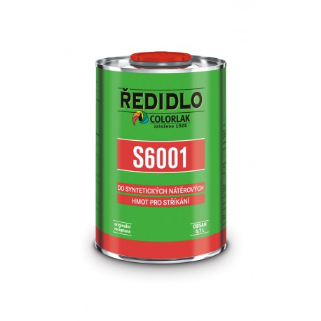 Riedidlo S-6001 C0000 bezfarebný 0,7l