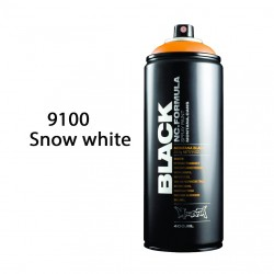 Montana black 9100 snow white 400ml