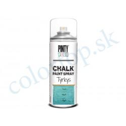 PINTY PLUS sprej chalk CK797 tyrkys 400ml