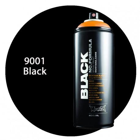 Montana black 9001 black 400ml