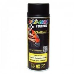 MOTIP Spray plast čierny lesklý 400ml