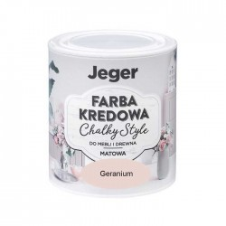 Jeger chalky style farba kriedova 5 geranium 0,5 L