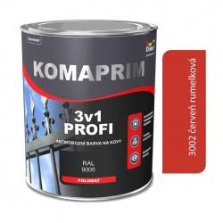 Komaprim 3v1 profi červená rumelková 0,75L
