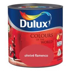 DULUX Colours of the World ohnivé flamenco 5l