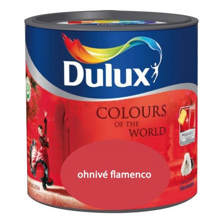 DULUX Colours of the World ohnivé flamenco 5l