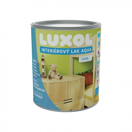 AkzoNobel Luxol interiérový lak aqua lesk 2,5l