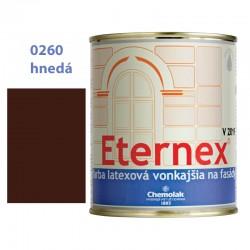 CHEMOLAK Eternex hnedý 0260 V-2019 latexová fasádna farba 0,8kg