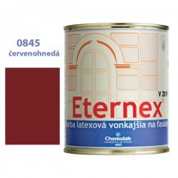 CHEMOLAK Eternex červenohedý 0845 V-2019 latexová fasádna farba 0,8kg