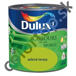 DULUX Colours of the World zelené terasy 2,5l