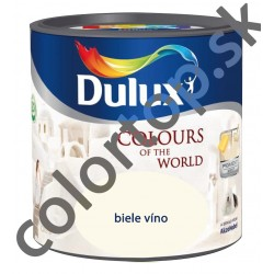 DULUX Colours of the World biele víno 2,5l