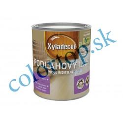 Xyladecor podlahový lak H2O polomatný 0,75L