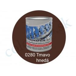 AkzoNobel Komaprim 3v1  0280 tmavo hnedý 2,5l