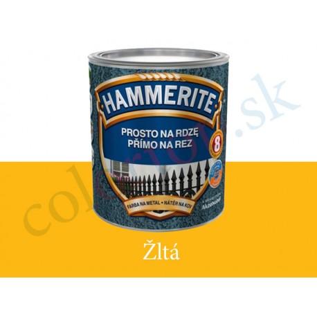 AkzoNobel Hammerite priamo na hrdzu hladký