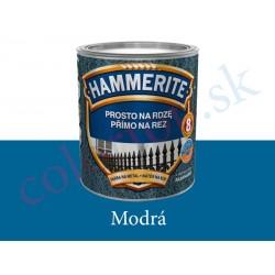AkzoNobel Hammerite priamo na hrdzu hladký modrý 0,25l